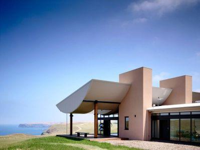 Vue Paysage-océan & Porte Vitrée Entrée - Flinders-House Par Peter Schaad Design, Australie