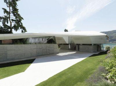 Vue Toiture - Lake-House-Portschach Par A01 Architects - Carinthie, Autriche
