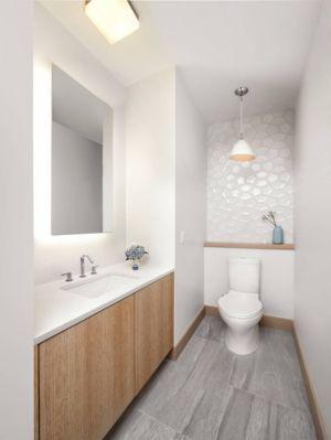 WC salle de bains - butterfly-house par Sagemodern - Californie, USA