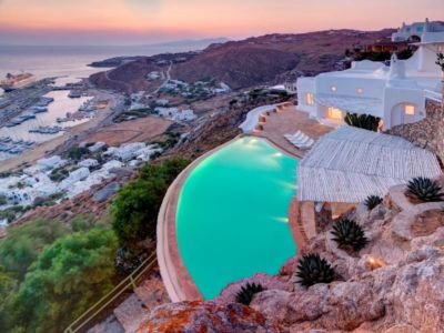 White Luxury house in Mykonos, Greece + d'infos