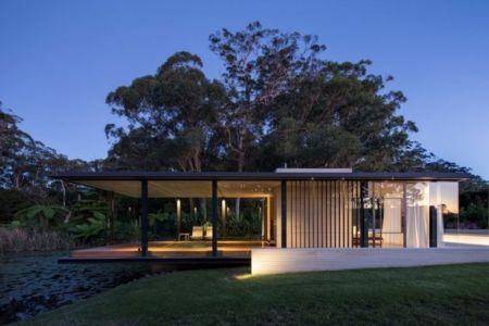Wirra Willa Pavilion par Matthew Woodward Architecture - Somersby - Australie - Photo Murray Fredericks