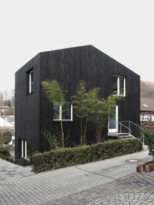 Zwei kleine Häuser par Architekturbüro Scheder - Hohenecken, Allemagne - Photo Jonathan Scheder - + d'infos