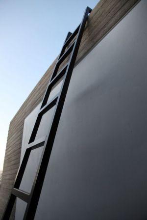 échelle de secours extérieur - A&A-House par WoArchitects - Athènes, Grèce