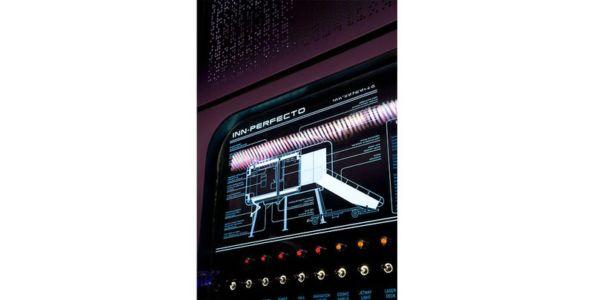 écran système module domotique - Spaceship Home par Noem Spaceship - Madrid, Espagne