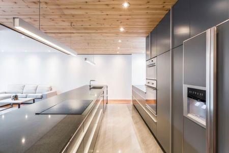 îlot central cuisine - Résidence Waverly par MU Architecture - Montréal, Canada