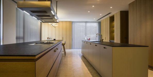 lot central cuisine - Vivienda en Son Vida par Negre Studio & Rambla 9 Arquitectura - Palma de Majorque, Espagne
