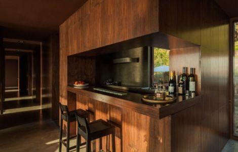 îlot central de cuisine - Casa de Seixas par Castro Calapez Arquitectos - Caminha, Portugal