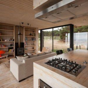 îlot central de cuisine - Remote-House par Felipe Assadi - Pichicuy, Chili