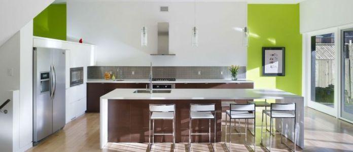 îlot central de cuisine - Renovates-Private-Residence par Dpai Architecture - Hamilton, Canada
