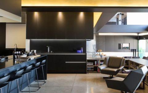 cuisine - Kloof-Road-House par Nico van der Meulen Architects - Johannesburg, Afrique du Sud