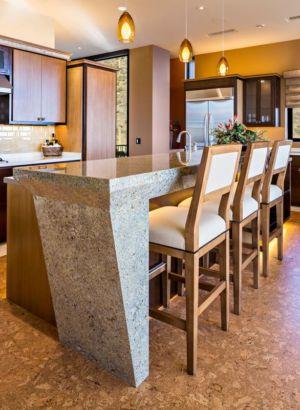 îlot central de cuisine - desert-residence par Shelby Wilson - Arizona, USA