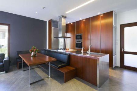 cuisine et séjour - tsikkinis par Tsikkinis Architecture Studio - Limassol, Chypre