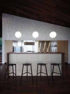 lot cuisine - Clifftop House Maui par Dekleva Gregoric Arhitekti - Maui, Hawaï
