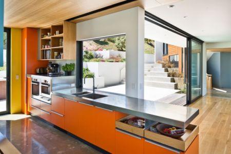 lot cuisine - Korokoro House par Parsonson Architects - Korokoro, Nouvelle Zélande