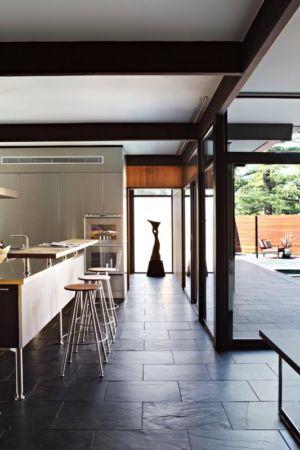 lot cuisine - La Cañada Residence par Jamie Bush & Co. - Sierra Madre, Usa