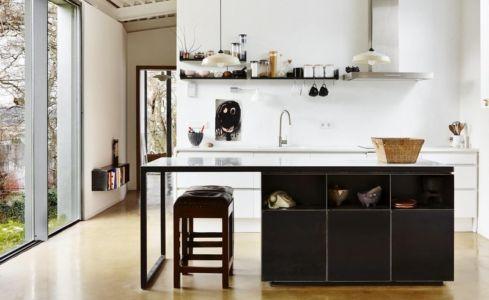 lot cuisine - Maison et atelier d'artiste par Miba architects - Gijón, Espagne