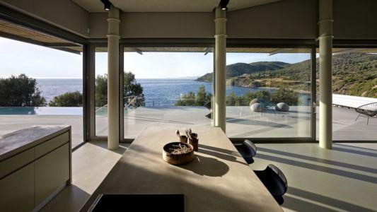 lot cuisine - Notre Ntam' Lesvos Residences par Z-level à Agios - Fokas, Grèce