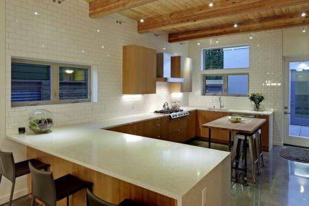 lot cuisine - Unique Reclaimed Modern par Dwell Development LLC - Seattle, Usa