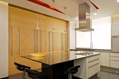 lot cuisine - V-House par Agraz Arquitectos - Puerta Plata, Mexique