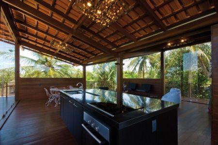 îlot de Cuisine - Casa Tropical par Camarim - Mundau, Brézil