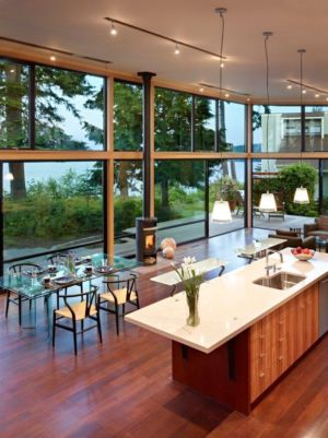 îlot de Cuisine - port-ludlow-house par Finne - Washington, USA