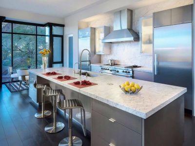 îlot Central De Cuisine - Arizona-Contemporary Par Luster Custom Homes - Arizona, USA