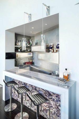 îlot Central De Cuisine Secondaire - Arizona-Contemporary Par Luster Custom Homes - Arizona, USA