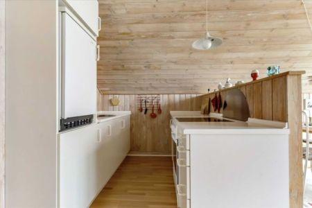 équipements cuisine - Tiny-house par Tiny Sod Roofed - Côtes Nord, Danemark