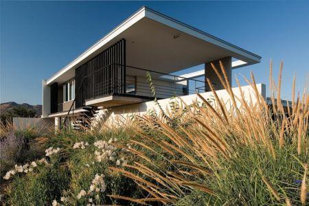 tage extérieur - Kübler House par 57STUDIO - Stgo, Chili