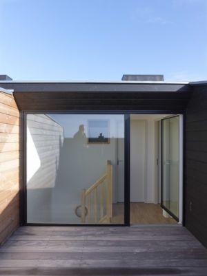 tage terrasse - Etoile Noire par  Angélique Chedemois Architect - Guérande, France