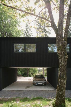 abri auto - Torsby III par Max Holst Arkitekt - Stockholm, Suède