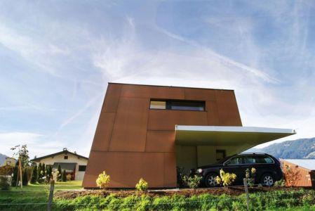 abri voiture - Muk par mahore architects - Saalfelden, Autriche