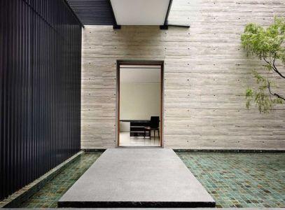 accès coursive - 66mrn house par Ong&Ong - Singapour