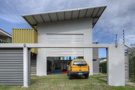 accès entrée - Casa incubo par Maria Jose Trejos- Costa Rica
