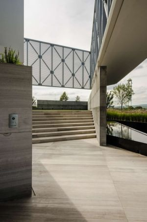 accès entrée - JRB House par Reims Arquitectura - Santa Domingo, Mexique