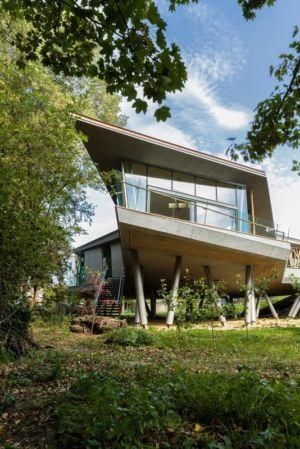 accès maison - Maggie's Oxford par Wilkinson Eyre Architects - Oxford, Royaume-Uni