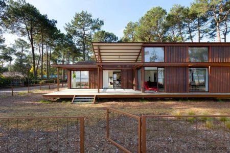 accès mer - Maison Alios par Guillaume Cosculluela - Pays Basque, France