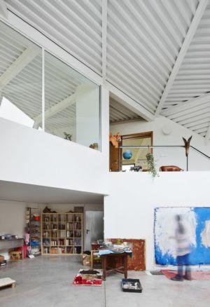 accès privé - Maison et atelier d'artiste par Miba architects - Gijón, Espagne