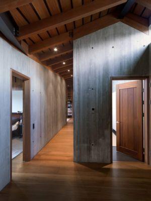 accès sous-sol - Bakkaflöt 14 par Studio Granda - Islande