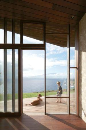 accès terrasse - Clifftop House Maui par Dekleva Gregoric Arhitekti - Maui, Hawaï