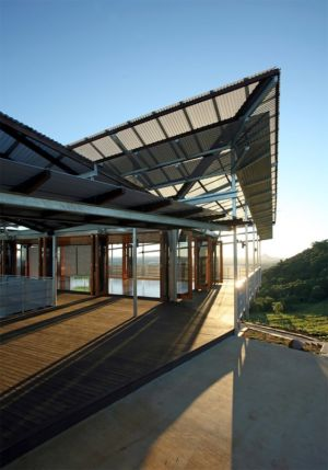 accès terrasse balcon - Cooroy Studio par  JMA Architects - Cooroy, Australie