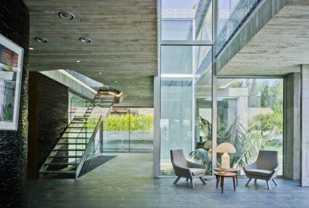 accueil - Maison 4 en 1 par Clavel Arquitectos - Guadalupe, Espagne - photo David Frutos