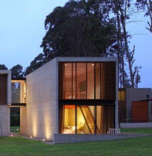 aile chambre - House b2 par Jaime Ortiz de Zevallos - Pachacamac District, Pérou