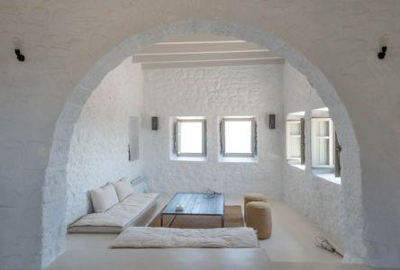 aire de repos - sterna-residence par Giorgos Tsironis and Greg Haji Joannides - Nisyros, Grèce