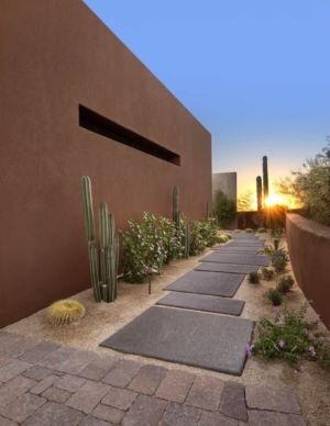 allée - Kim Residence par Tate Studio Architects - Scottsdale, Usa