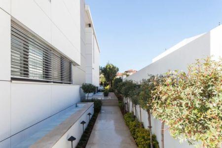 allée - Maison contemporaine béton par Ron Aviv - Tel Aviv, Israël