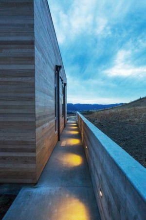 allée côté - Cloverdale par Elemental Architecture - Usa - Jaime Kowal Photography