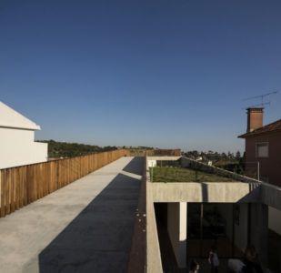 toit terrasse - house-caxias par António Costa Lima Arquitectos - Caxias, Portugal