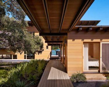 allée entrée - The Hog Pen Creek Residence par LakeFlato - Austin, Usa