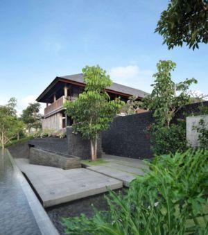 allée entrée - Villa Pecatu par Wahana Cipta Selaras - Pecatu, Indonésie
